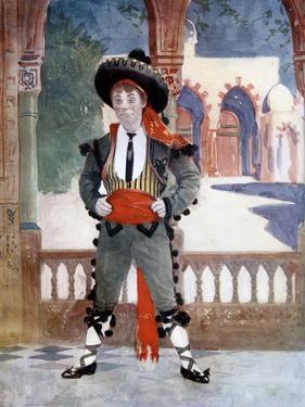 Edmund Payne in the Toreador, C1902 by Ellis & Walery