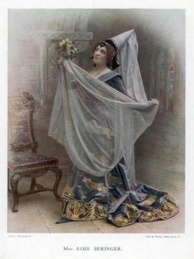 Esme Beringer, British Actress, 1901 by Ellis & Walery