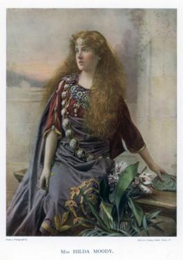 Hilda Moody, British Actress, 1901 by Ellis & Walery