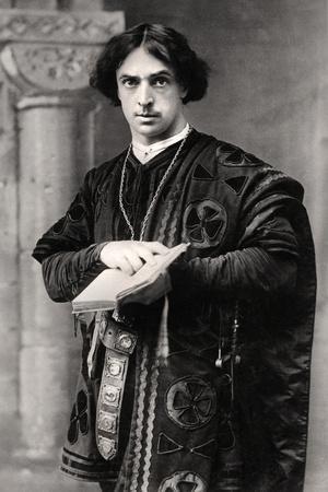 John Martin Harvey (1863-194), English Actor, 1907