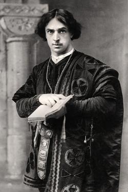 John Martin Harvey (1863-194), English Actor, 1907 by Ellis & Walery