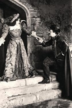 Julia Neilson and Fred Terry in a Scene from Dorothy O' the Hall, Early 20th Century by Ellis & Walery