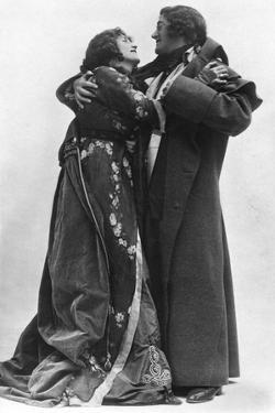Julia Neilson and Fred Terry in the Scarlet Pimpernel, C1905 by Ellis & Walery