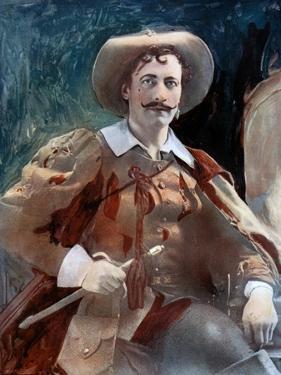 Lewis Waller in the Three Musketeers, C1902 by Ellis & Walery