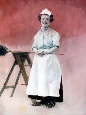 Louie Freear in the Lady Slavey, C1902 by Ellis & Walery