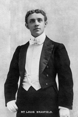 Louis Bradfield, 1903 by Ellis & Walery