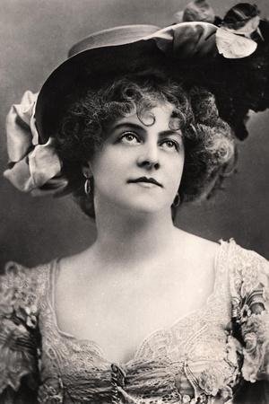 Marie Studholme (1875-193), English Actress, 1907