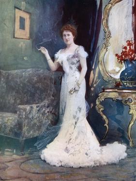 Miss Granville in an Interrupted Honeymoon, C1902 by Ellis & Walery