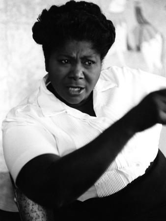 Mahalia Jackson 1960 by Ellsworth Davis