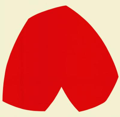 Red White, c.1962 by Ellsworth Kelly