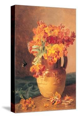 Flowers in a Jug by Eloise Harriet Stannard