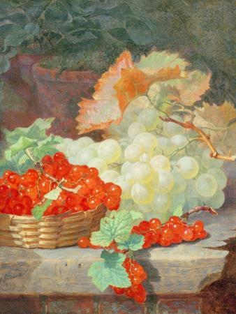 Redcurrants and Grapes, 1864