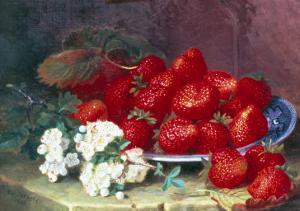 Strawberries by Eloise Harriet Stannard