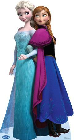 Elsa and Anna - Disney's Frozen Lifesize Standup