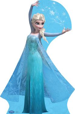 Elsa - Snow Flakes - Disney's Frozen Lifesize Standup