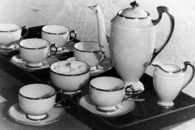Coffee Set 1930S by Elsie Collins