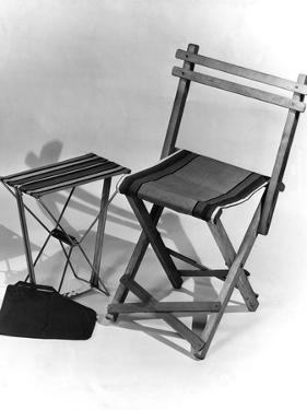 Folding Travel Chair by Elsie Collins