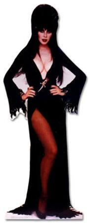 Elvira, Mistress of the Dark Lifesize Standup