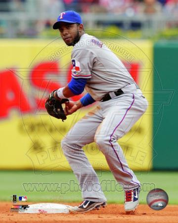 Elvis Andrus 2011 Action