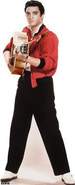 Elvis Black & White Music Lifesize Standup