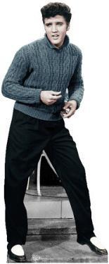 Elvis Blue Sweater