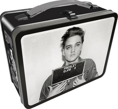 Elvis Enlistment Photo Lunch Box