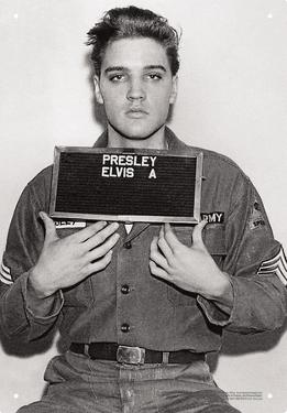 Elvis - Enlistment Photo
