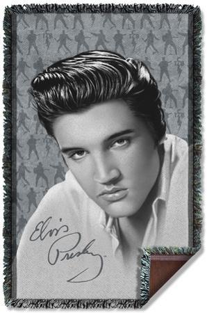Elvis - Moves Woven Throw