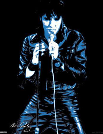 Elvis Presley 68 Comeback Special Music Poster Print
