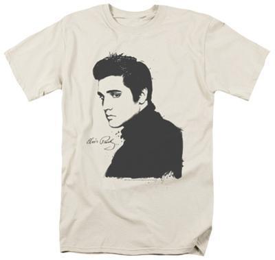 Elvis Presley - Black Paint