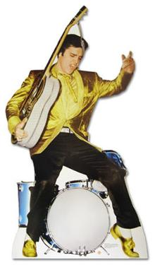 Elvis Presley - Drums Lifesize Standup