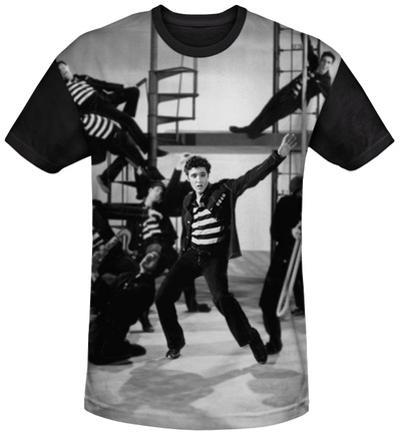 Elvis Presley - Jubilant Felons Black Back