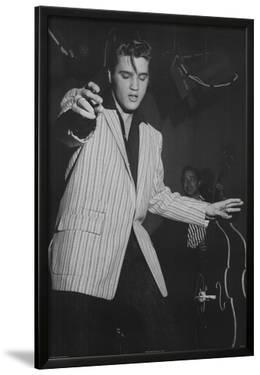Elvis Presley White Jacket Music Poster Print