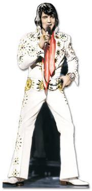 Elvis Presley - White Suit Lifesize Standup