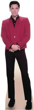 Elvis Red Jacket Music Lifesize Standup