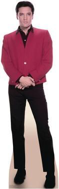 Elvis Red Jacket Music Lifesize Standup