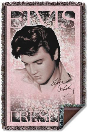 Elvis - Soft Lights Woven Throw