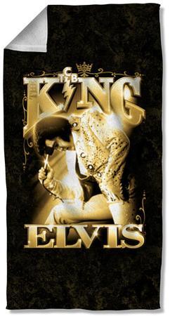 Elvis - The King Beach Towel