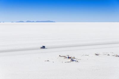 Salar De Uyuni, Bolivia - View from Isla Incahuasi by Elzbieta Sekowska