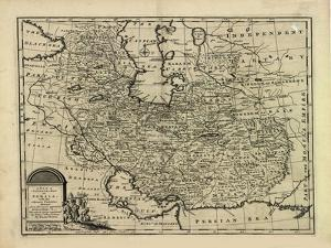 New and Accurate Map of Persia, with the Safavid and Mughal Empire by Emanuel Bowen