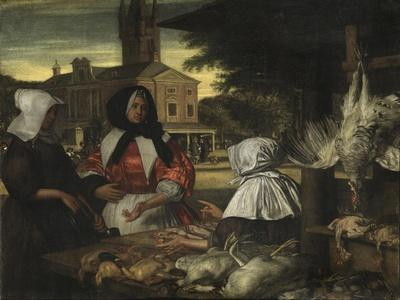 The Birdmarket, Amsterdam, c.1660-70