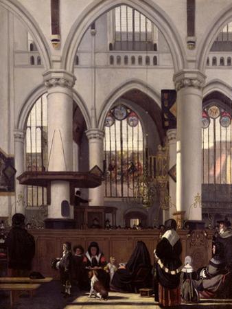 The Interior of Oude Kerk, Amsterdam, c.1660