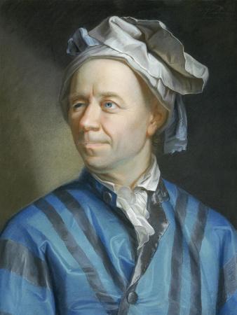 Portrait of the Mathematician Leonhard Euler