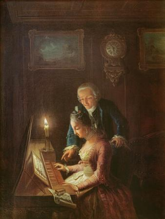 The Music Lesson, 1769