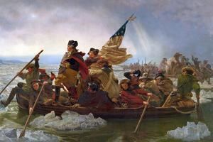 Crossing the Delaware by Emanuel Leutze