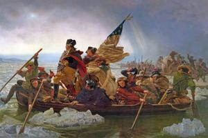 Washington Crossing the Delaware River, 25th December 1776, 1851 (Copy of an Original Painted in… by Emanuel Leutze