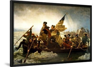 Washington Crossing the Delaware River by Emanuel Leutze