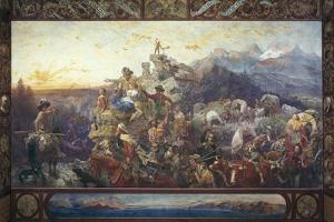 Westward the Course of Empire Takes its Way by Emanuel Leutze
