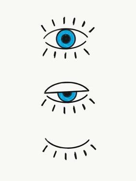 Evil Eye by Emanuela Carratoni
