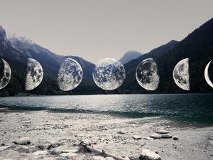 Moonlight Mountains by Emanuela Carratoni